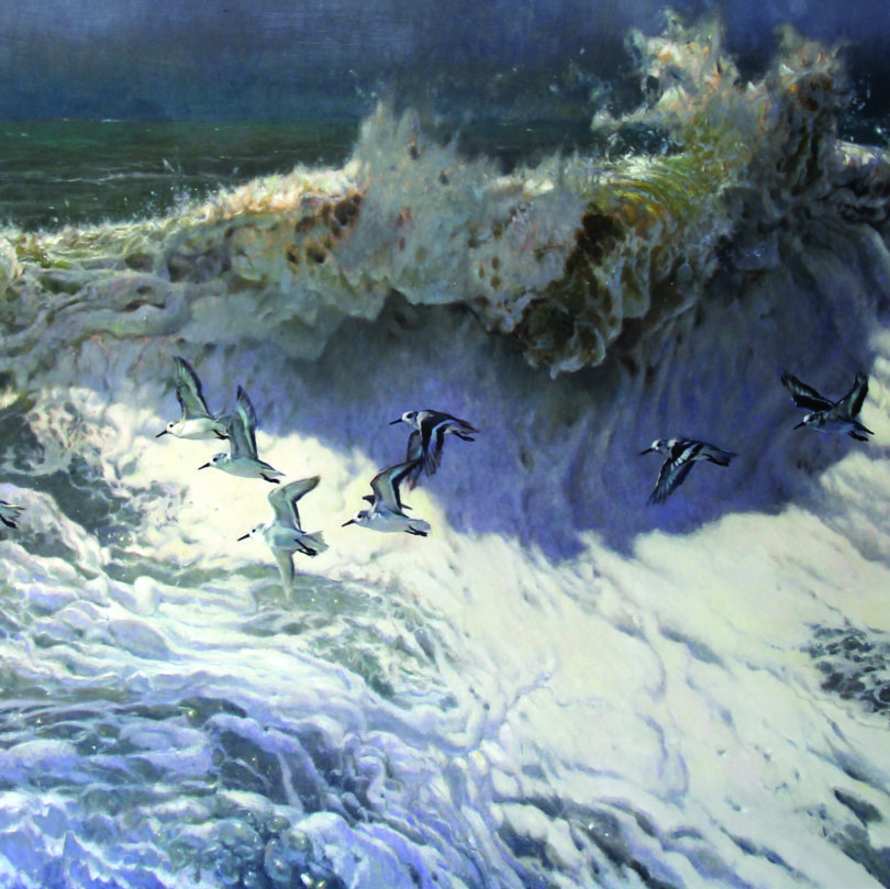 Matthew Hillier painting