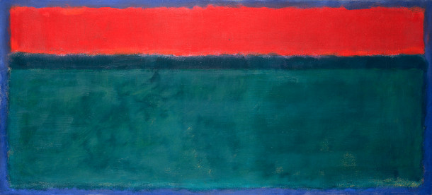 Resultado de imagen de Mark Rothko. Sin título, 1952. National Gallery of Art, Washington.