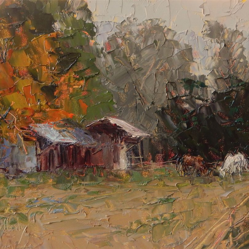 Painting by Academy Art Museum Instructor Diane Mullaly