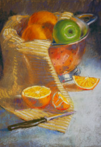 Pastel by Academy Art Museum Instructor Katie Cassidy